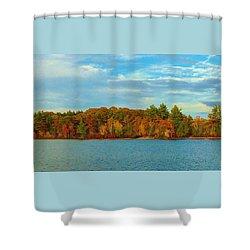 Autumn In Maine Shower Curtain