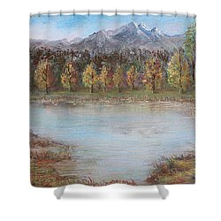 Autumn In Maule Shower Curtain