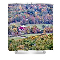 Autumn View, Mohonk Preserve Shower Curtain