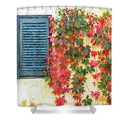 Autumn In Napa Shower Curtain