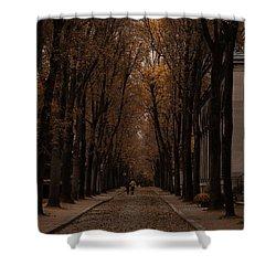 Autumn In Paris 1 Shower Curtain