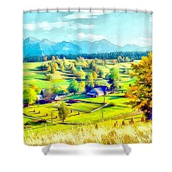 Autumn In Poland Shower Curtain