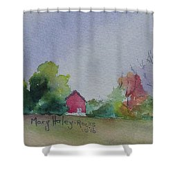 Autumn In Rural Ohio Shower Curtain