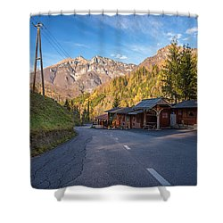 Autumn In Slovenia Shower Curtain