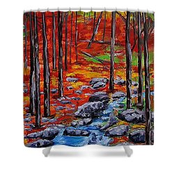 Autumn In The Air 2 Shower Curtain