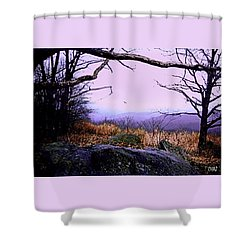 Autumn In The Blue Ridge Mountains Of Virginia Shower Curtain