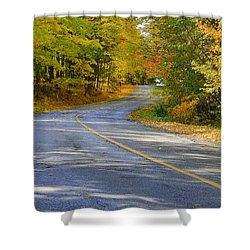 Shower Curtain featuring the photograph Autumn In The Caledon Hills 2 by Gary Hall