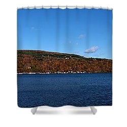 Autumn In The Finger Lakes Shower Curtain