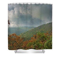 Autumn In The Ilsetal, Harz Shower Curtain