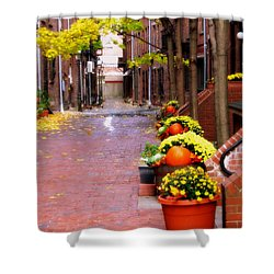Autumn In The North End Shower Curtain