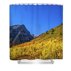 Autumn In The Rockies Shower Curtain