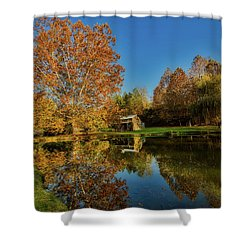 Autumn In West Virginia Shower Curtain by L O C