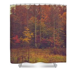 Autumn In West Virginia Shower Curtain