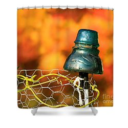 Autumn Insulator Shower Curtain