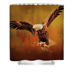 Autumn Is Coming Shower Curtain