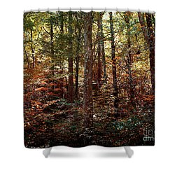 Autumn Is Stirring Shower Curtain