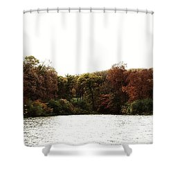 Shower Curtain featuring the photograph Autumn  by J L Zarek