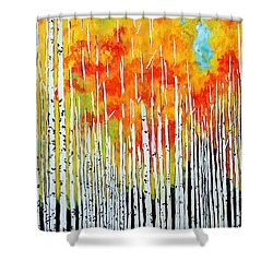 Autumn Shower Curtain by Jackie Carpenter