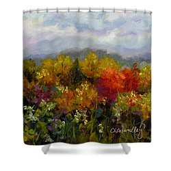 Autumn Jewels Shower Curtain