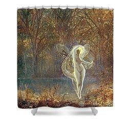 Autumn Shower Curtain by John Atkinson Grimshaw