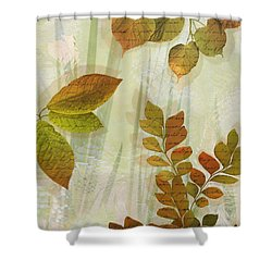 Autumn Leaves-1 Shower Curtain