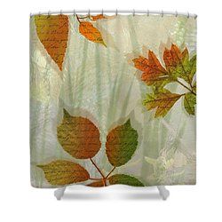 Autumn Leaves-2 Shower Curtain