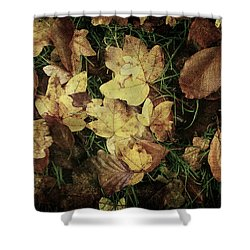 Autumn Leaves Are Falling Down... Shower Curtain