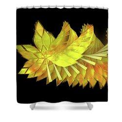 Autumn Leaves - Composition 2.3 Shower Curtain