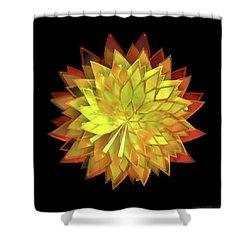 Autumn Leaves - Composition 4 Shower Curtain