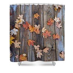 Autumn Leaves Fall Shower Curtain