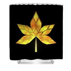 Autumn Leaves - Frame 070 Shower Curtain