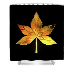 Autumn Leaves - Frame 200 Shower Curtain