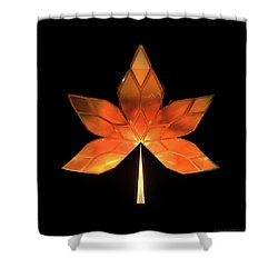 Autumn Leaves - Frame 260 Shower Curtain