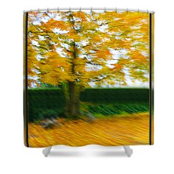 Autumn, Leaves Shower Curtain