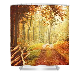 Autumn Lights Shower Curtain