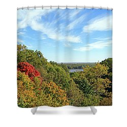 Autumn Lookout Shower Curtain
