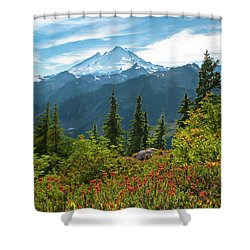Autumn Is Calling Shower Curtain