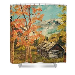 Autumn Memories Shower Curtain by Sharon Duguay