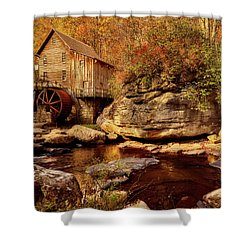Autumn Mill Shower Curtain by L O C