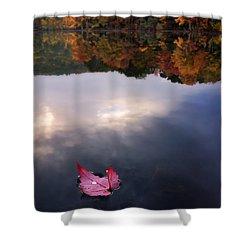 Autumn Mornings Iv Shower Curtain