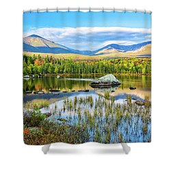 Autumn Mt.katahdin Baxter Sp Maine Shower Curtain