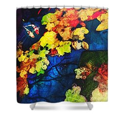 Autumn Nights Shower Curtain