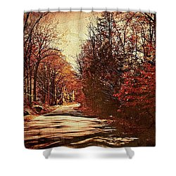 Autumn Norland's Road Shower Curtain