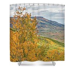 Autumn On The Mesa Shower Curtain