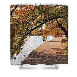 Autumn On The Tidal Basin Shower Curtain