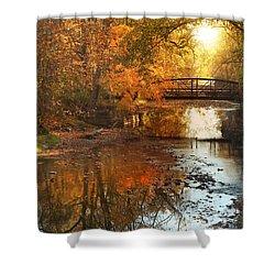 Autumn Over Furnace Run Shower Curtain