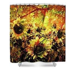 Autumn Shower Curtain by Paul Drewry