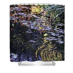 Autumn Ripples Shower Curtain