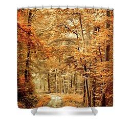 Autumn Secret Shower Curtain