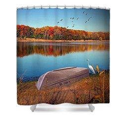 Autumn Serenade Shower Curtain